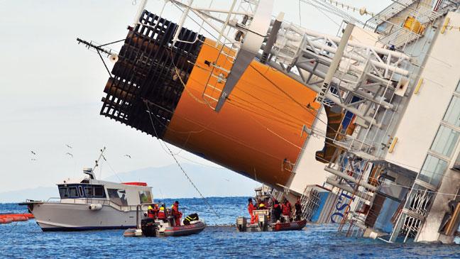 TELEVISION: Costa Concordia