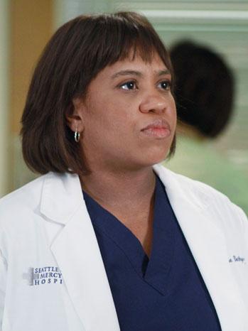 Grey's Anatomy Chandra Wilson: TV Still 9/22/11 - P 2012