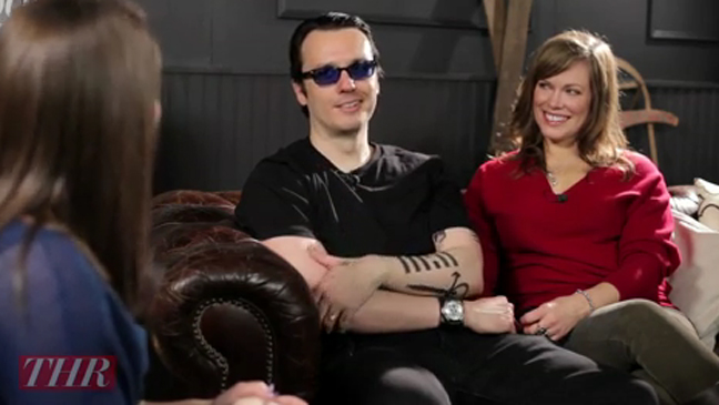 Damien Echols And Lorri Davis West Of Memphis Sundance 2012 Hollywood Reporter
