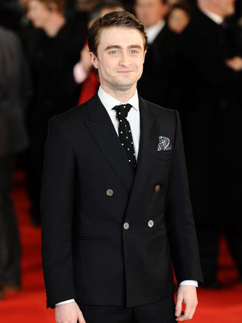 Daniel Radcliffe The Woman in Black Premiere - P 2012