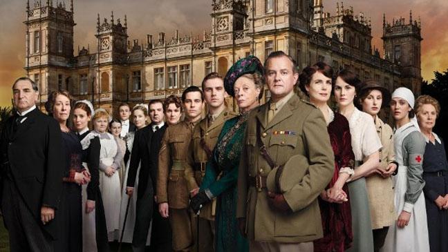 Downton Abbey Cast - H 2012