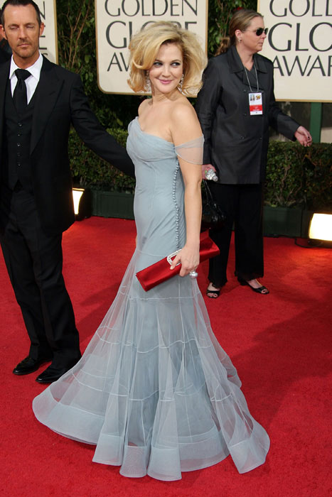 2 FEA Globes Dress Drew Barrymore P IPAD