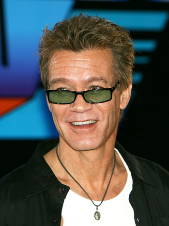 Eddie Van Halen Press Conference - P 2012