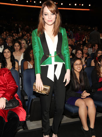 People's Choice Emma Stone Pant Suit - P 2012