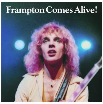 Peter Frampton Comes Alive album cover P