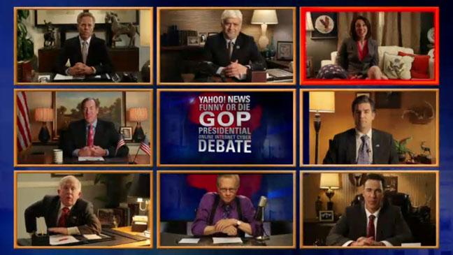 Funny Or Die Yahoo Presidential Debate - H 2012