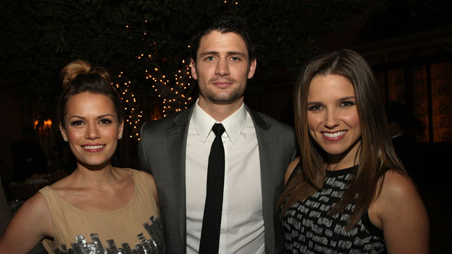 Bethany Joy Galeotti James Lafferty Sophia Bush TCA - H 2012