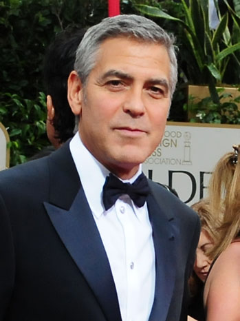 George Clooney Golden Globe Awards Red Carpet - P 2012