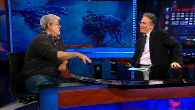 George Lucas Daily Show - H 2012