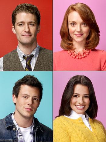 Glee Couples Split - P 2012