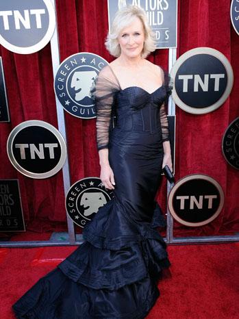 Glenn Close Screen Actors Guild Awards - P 2012