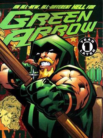Green Arrow Comic Book P