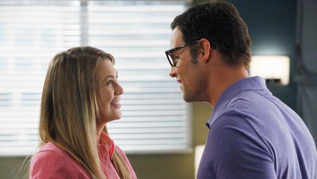 Grey's Anatomy Justin Chambers Ellen Pompeo: TV Still 2/2/12 - H