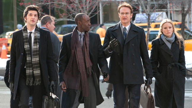 House of Lies Cast Episodic Walking in Street - H 2012