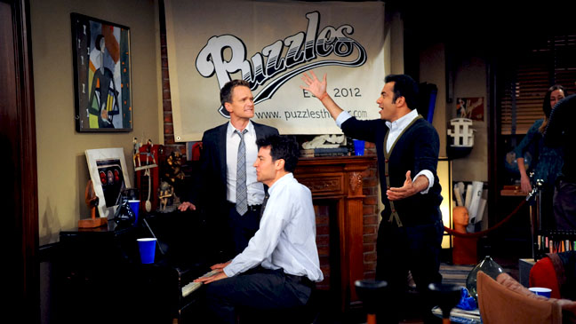 How I Met Your Mother Puzzles Jan 2 - H 2012