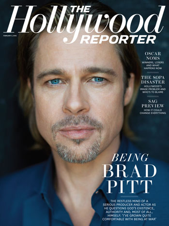 2012 Issue 4: Brad Pitt