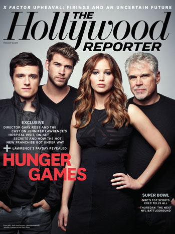 2012 Issue 5: 'The Hunger Games' Cast