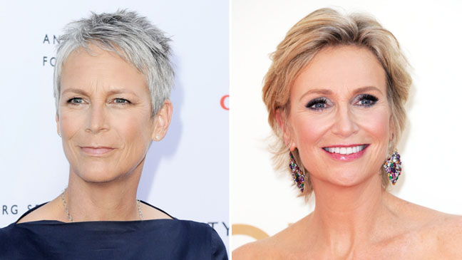 Jamie Lee Curtis Jane Lynch Split - H 2012