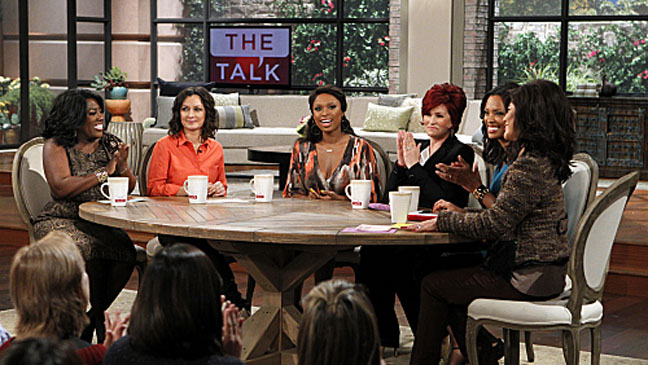 Jennifer Hudson The Talk CBS - H 2012