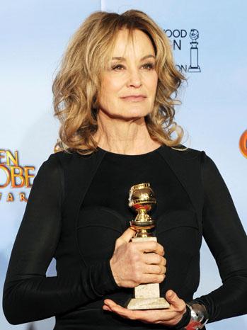 Jessica Lange Golden Globe Awards Press Room - P 2012