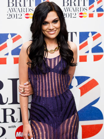 Jessie J BRIT Awards See Through Dress - P 2012