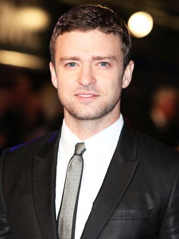 Justin Timberlake Headshot - P 2012
