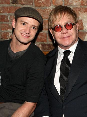 Justin Timberlake Elton John - P 2012