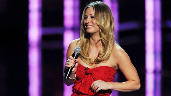 Kaley Cuoco People's Choice Awards Host - H 2012