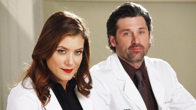Grey's Anatomy Kate Walsh Patrick Dempsey EP Feb 2 - H 2012