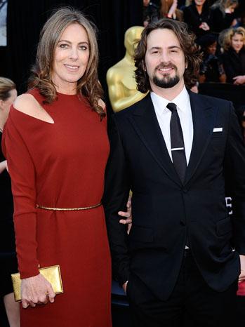 Kathryn Bigelow Mark Boal Oscars - P 2012