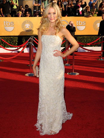 Katrina Bowden SAG Awards Red Carpet - P 2012