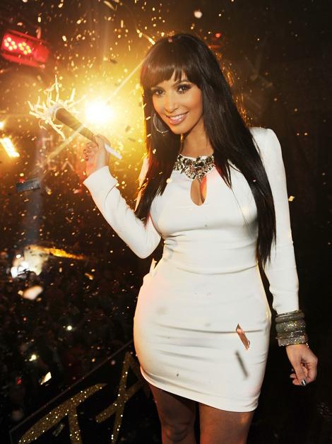 Kim Kardashian New Years Eve Vegas