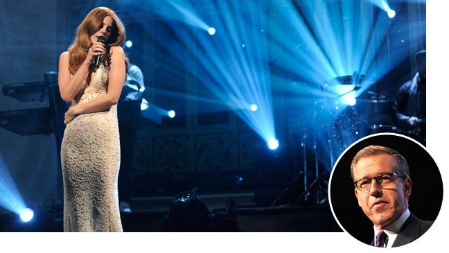 Lana Del Rey Brian Williams Split - H 2012