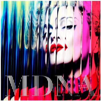 Madonna MDNA album art P
