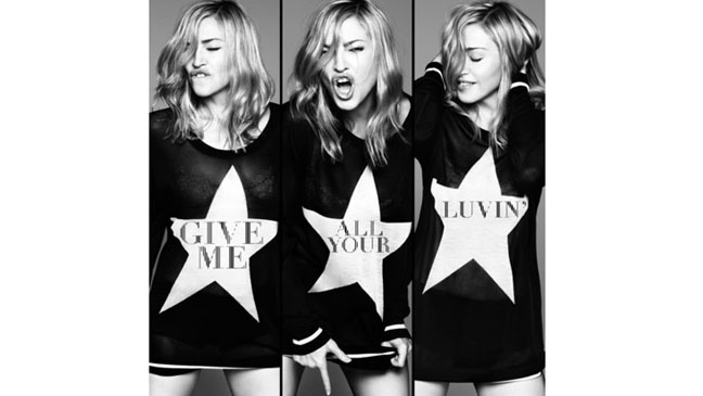 Madonna Give Me All Your Luvin' Art - H 2012