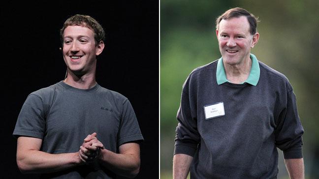 Mark Zuckerberg Don Graham Split - H 2012