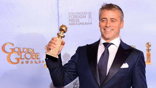 Matt LeBlanc Golden Globe Awards Press Room - H 2012