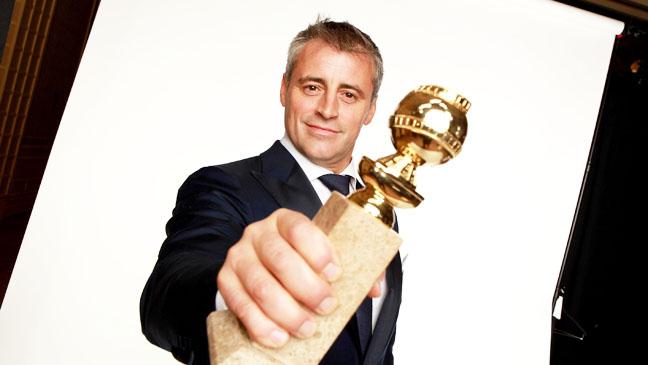 69th Golden Globes Matt Leblanc with award - H 2012