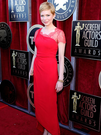 Michelle Williams SAG Awards Red Carpet - P 2012