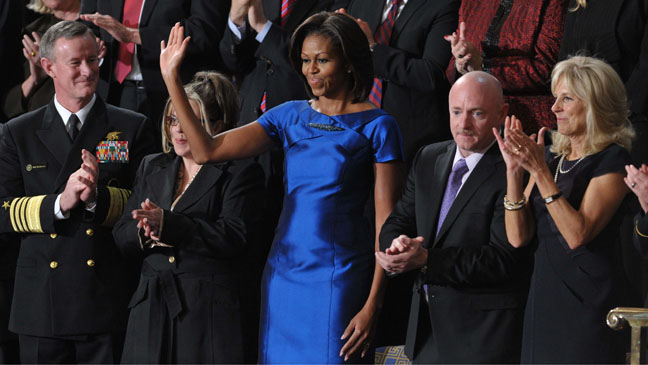 Michelle Obama State of the Union Dress - H 2012