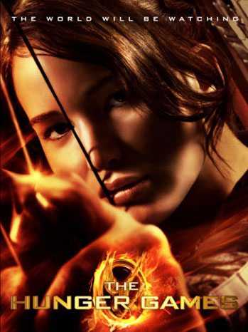 Hunger Games Poster Shooting arrow - P 2012
