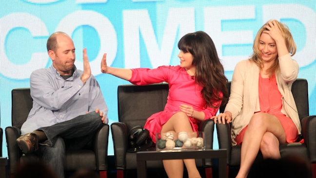 New Girl TCA Comedy Panel H 2012