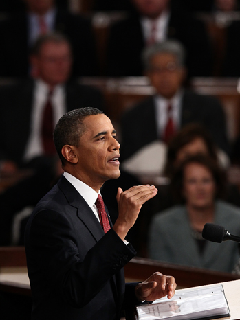 State of the Union President Obama - P 2012