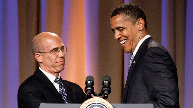 2012-05 REP Jeffrey Katzenberg Barack Obama