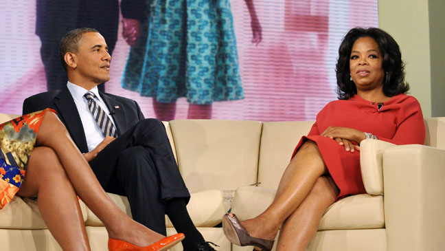 Barack Obama Oprah Winfrey Show - H 2012