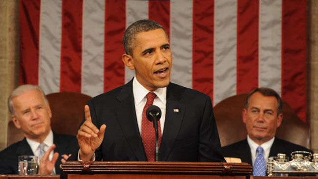 President Obama State of the Union - H 2012