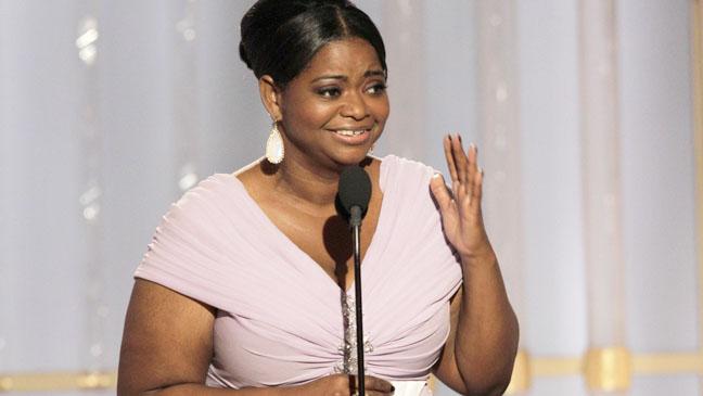 69th Golden Globes Best Supp Actress Octavia Spencer - H 2012