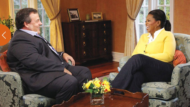 Oprah's Next Chapter Chris Christie - H 2012