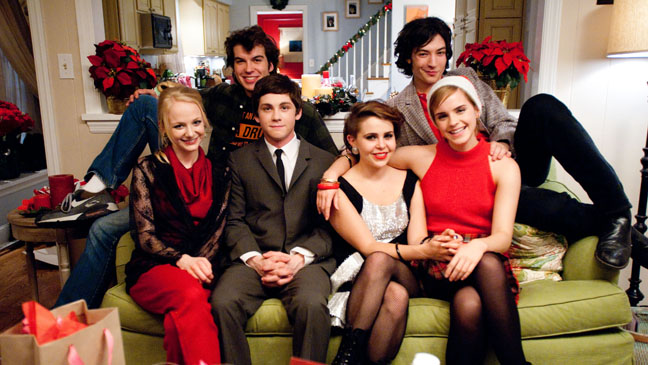 Perks of being a Wall Flower Cast on Couch - H 2012