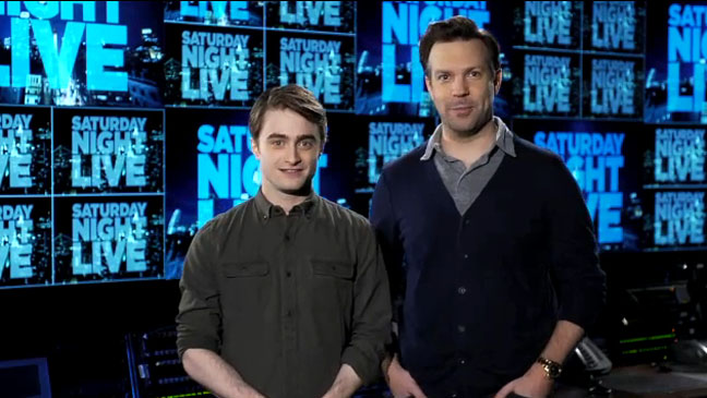 Daniel Radcliffe Jason Sudeikis Saturday Night Live
